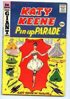 Katy Keene Pin-Up Parade #5   Paperdolls