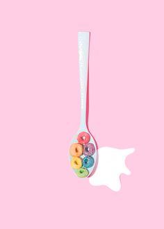 Rainbow Spoon // Violet Tinder Studios