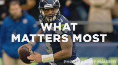 Pastor Mark Driscoll interviews Seahawks quarterback Russell Wilson about life, football, & Jesus. Seattle Seahawks, Seahawks Fans, Russell Wilson, Mark Driscoll, Nfl Playoffs, What Matters Most, Bad Kids, 12th Man, Pastor
