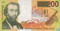 Bankbiljetten - België - 1994-97 ND Issue - België 200 Frank ND (1995)