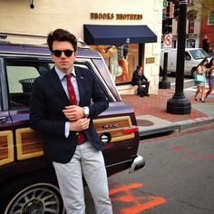 """Come out and visit myself and the rest of the @KJP crew at the @BrooksBrothers in Georgetown for a bow-ties and blazers party this evening"""