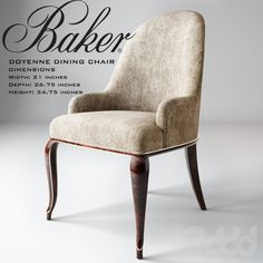 Baker/Doyenne dining chair