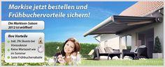 Aktuelle Markisen Angebote direkt vom Hersteller Exclusiv-Home.    http://www.exclusiv-home.de/Kategorie/1/Markisen.htm