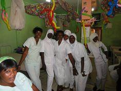 Hospital de Gambia donde Bea ha colaborado como voluntaria
