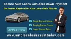 20 Best Zero Down Payment Auto Loan Images In 2017 Car Loans Car