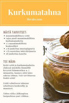 Kurkumatahna on ihmerohto, se auttaa taistelussa tulehduksia vastaan. Cantaloupe, Fruit, Food, Essen, Meals, Yemek, Eten
