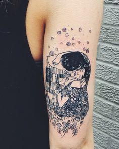 tattoo cuadro el beso de gustav - Buscar con Google