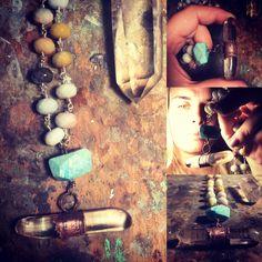 Dog Tags, Dog Tag Necklace, Turquoise Necklace, Jewelry, Jewlery, Jewerly, Schmuck, Jewels, Jewelery