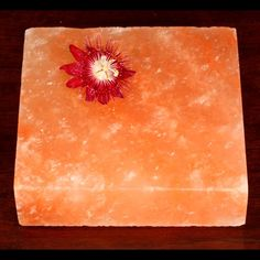 Himalayan Rock Salt Cooking Plate 8x8x2 As seen on TV - Imported by TheSpiceLab Inc. - http://spicegrinder.biz/himalayan-rock-salt-cooking-plate-8x8x2-as-seen-on-tv-imported-by-thespicelab-inc/