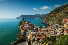 Vernazza, a gem of the Cinque Terre—and of the Italian Riviera. Photo by Peter Stewart Photography