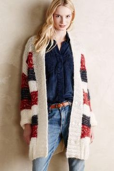 Handknit Piper Cardigan  #Anthropologie