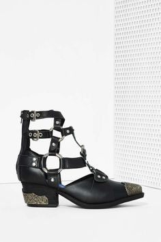 Jeffrey Campbell Temeku Leather Boot - Flats | Jeffrey Campbell | Ankle | Back In Stock
