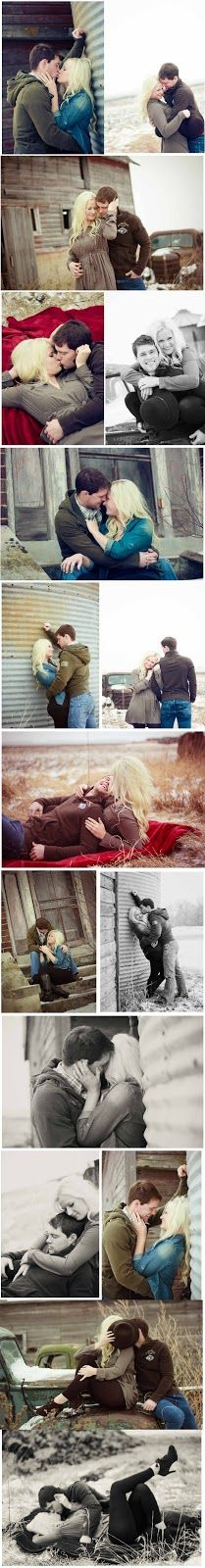 winter on the farm couple shoot...wanna do this for our first Christmas as Mr. and Mrs. Brown! =)