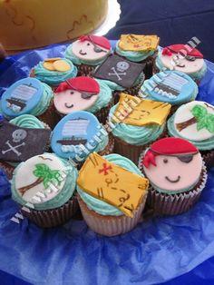 Cupcakes fiesta piratas