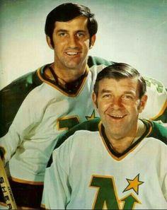 Cesare Maniago and Gump Worsley | Minnesota North Stars | NHL | Hockey