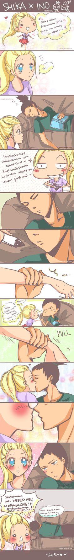 Naruto: Shika x Ino 2