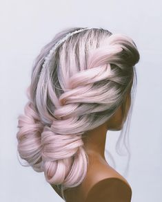 Cute Hair Colors, Cool Hair Color, Dye My Hair, Synthetic Lace Front Wigs, Stylish Hair, Hair Today, Hair Dos, Gorgeous Hair, Hair Designs