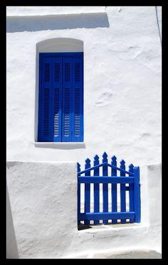 Azul y blanco en la isla de Sifnos - Cícladas, Grecia-Bellísimo!