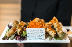 Vegetable Egg Rolls  Simply Delicious Caterings | Our Favorite Appetizers