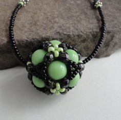 green and black ball necklace beaded ball necklace casual Gifts For Teens, Gifts For Mum, Gifts For Women, Christmas Ideas, Christmas Decorations, Xmas, Ball Necklace, Beaded Necklace, Green Gifts