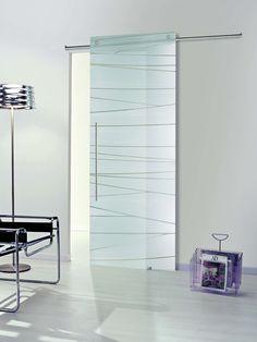 Puerta corredera de cristal Casali, modelo SystemZero Dune de Maydisa