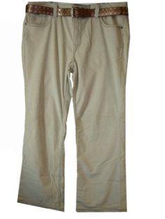 Women's Gitano Corduroy Pants Size 22 (Tan) Gitano. $38.00