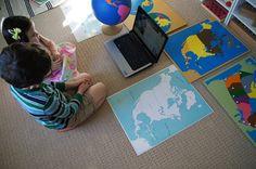 Montessori Inspired Geography - Where do I live? Unit