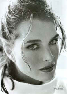 Brooke Shields by Sante D' Orazio for Mirabella, 1999.