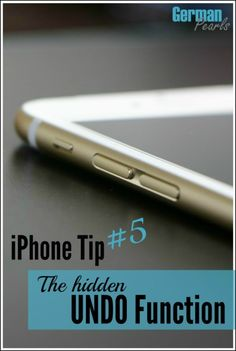 iPhone Tip - There's a handy UNDO feature built into your iPhone or iPad that most people don't know about. Here's a quick demo on how to undo typing in a text, email and more. The best iPhone tips, tricks and hacks that actually help you use your iPhone! Ipad Mini, Ipad Hacks, Iphone Hacks, Iphone 6s Tips, Iphone Secrets, Tips & Tricks, Tablets, Best Iphone, Tips