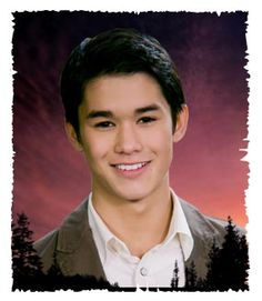 BOOBOO STEWART    (as Seth Clearwater  in Twilight).......  Booboo is the one that got my '79 Pontiac (t-top) TransAm............   I miss my car but it has a good home.