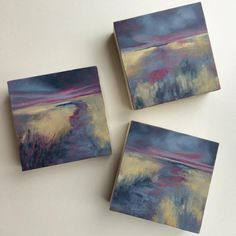 Abstract Somerset Landscapes by Vicki Hutchins