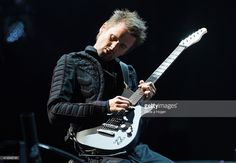 Matt Bellamy of Muse performs on stage during BBC Radio 1's Big Weekend Norwich 2015 at Earlham Park on May 23, 2015 in Norwich, England.