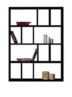 Bücherregal schwarz weiß  Black&White Bücherregal Donie   Home   Pinterest   Bücherregale