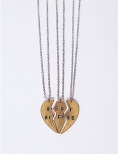 Best Bitches Necklaces, $16 | 24 Matching Jewelry Pieces For You And The One You Love