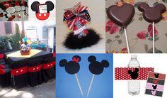 Mickey y Minnie en tu fiesta!