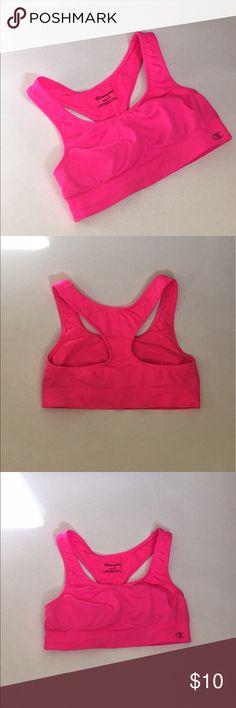697076bd64 Hot Pink Champion Sports Bra Hot pink sports bra Champion Intimates    Sleepwear Bras