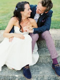 2014 Wedding Trends | Styled Grooms | this groom has some serious style! | Purple Wedding Inspiration