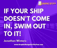 Enough #Graphics for the Entire #Year! 520! No more #Social #Media #Anxiety ! We can help you be a social media guru! Fast! If your ship doesn't come in, swim out to it! -Jonathan Winters - www.GraphicDesignfortheYear.com