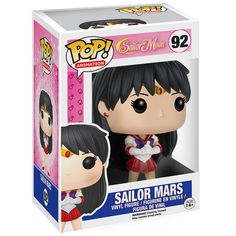 Figurine Sailor Mars (Sailor Moon) - Funko Pop