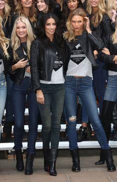 Karlie Kloss - 2014 Victoria's Secret Fashion Show - Photocall