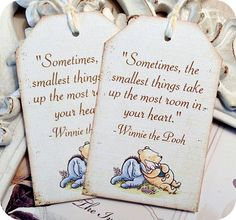 Winnie the Pooh quotes for your wedding vows as seen on @offbeatbride #wedding #weddingvows #vows