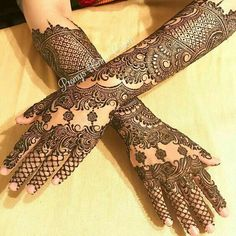 Henna Design Full Mehndi Designs, Mehndi Design Pictures, Wedding Mehndi Designs, Mehndi Designs For Hands, Henna Tattoo Designs, Hena Designs, Mehndi Images, Engagement Mehndi Designs, Mehendhi Designs