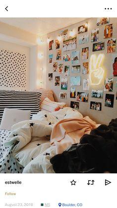 Elegant and Modern Master Bedroom Design Ideas 2018 - Raumdekoration - Bedroom Decor Modern Master Bedroom, Master Bedroom Design, Bedroom Inspo, Bedroom Designs, Cute Bedroom Decor, Dorm Room Designs, Teen Room Decor, Room Wall Decor, Modern Teen Room