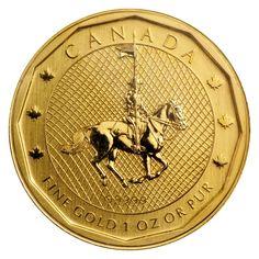 2011 1 oz Gold Canadian Mountie Maple Leaf Fine for sale online George Hamilton Iv, Gold Bullion Bars, Gold Coins, Canada, Ebay, Police, Law Enforcement