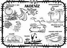 Akdeniz bölgesi Primary School, Pre School, Earth And Solar System, Preschool Activities, Geography, Montessori, Kindergarten, Homeschool, Crafts For Kids
