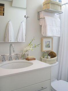 Carol Reed Design - bathrooms - ikea washstand, ikea bathroom vanity, rectangular pivot mirror