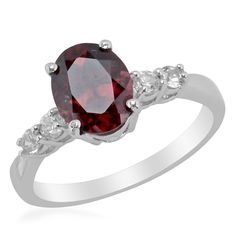 Liquidation Channel - Affordable Umba River Zircon (Ovl 3.40 Ct), White Zircon Ring in Platinum Overlay Sterling Silver Nickel Free (Size 9) TGW 3.82 cts.