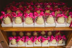 Mini bolos - lembrancinha para adultos
