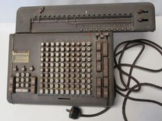 """FRIDEN AUTOMATIC CALCULATOR VINTAGE ''POWERS UP"""" For Parts or Repair #friden"""