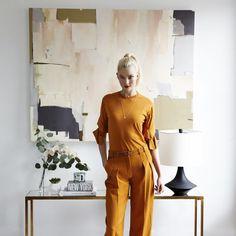 Karlie Kloss's Light-Filled SoHo Office Is a City Girl's Dream via @MyDomaine